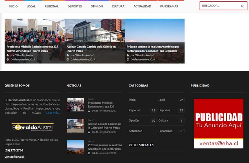Diseño Web Puerto Varas