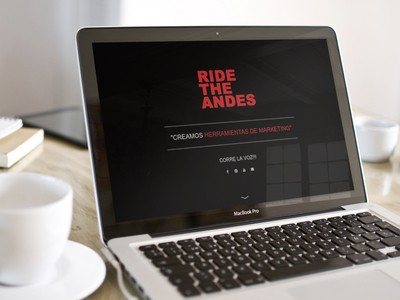 Ride the Andes - Diseño Web Puerto Varas